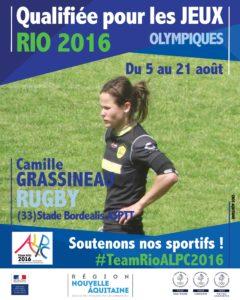 Rugby Grassineau RIO #TeamRioALPC2016