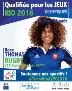 Rugby Thomas RIO #TeamRioALPC2016