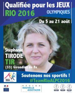 Tir Tirode RIO #TeamRioALPC2016