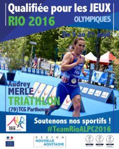 Triathlon Merle RIO #TeamRioALPC2016
