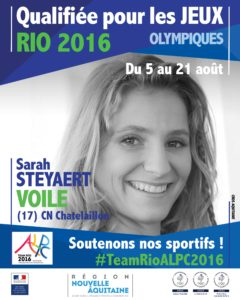 Voile Stevaert RIO #TeamRioALPC2016