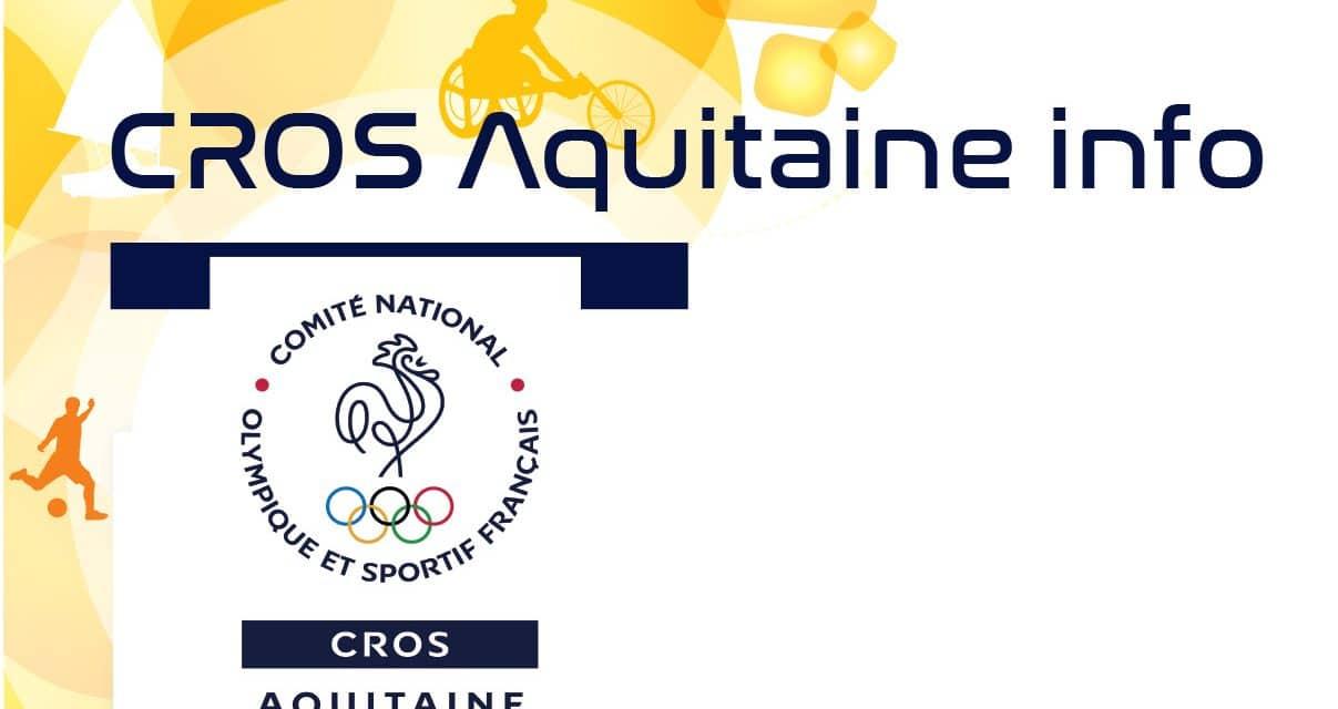 « Accompagnement les ligues et comités sportifs régionaux ALPC dans la fusion »  trimestriel mars 2016 du CROS d'Aquitaine