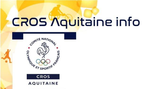 Trimestriel juillet 2016 du CROS d'Aquitaine : Jeux Olympiques et Paralympiques de RIO
