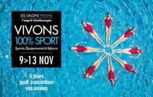 Salon VIVONS 100% Sport Bordeaux @ Parc des expositions de bordeaux-Lac   Bordeaux   Aquitaine-Limousin-Poitou-Charentes   France
