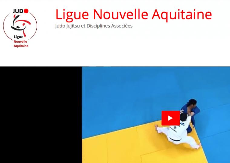 Nouvelle identité visuelle pour le judo, jujitsu et disciplines associées Nouvelle Aquitaine