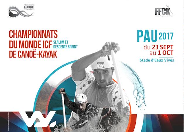 Championnats du Monde ICF de Canoë-Kayak 2017 à Pau – Devenez volontaire !