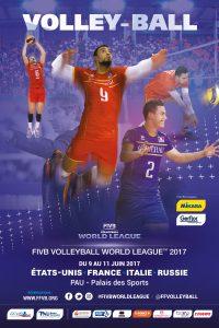 Volley-Ball - Ligue Mondiale 2017 FIVB World League @ Palais des Sports - PAU (64) | Pau | Nouvelle-Aquitaine | France
