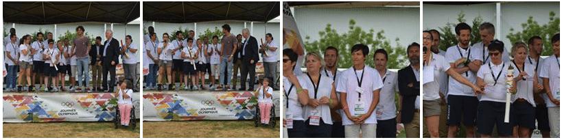 Journée olympique 23 juin 2017 Bordeaux Talence