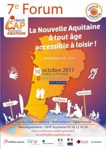 Affiche 7e Forum Handi CAP Nouvelle Aquitaine