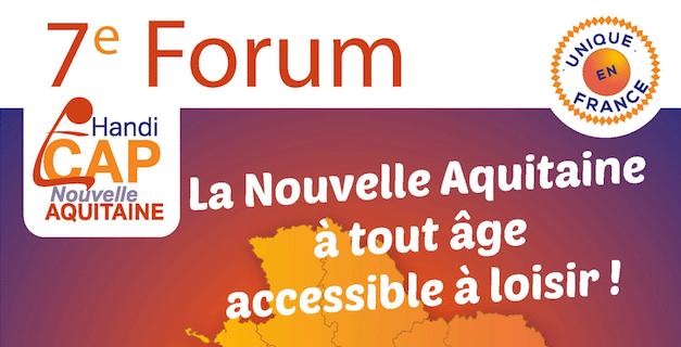 Retrouvez le CROS au 7e Forum Handi CAP Nouvelle-Aquitaine le 10 octobre à Mérignac