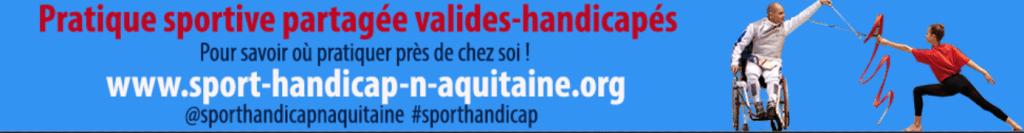 Sport handicap NOuvelle-Aquitaine