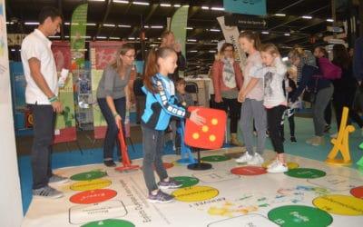 Sport et olympisme avec le CROS sur le SALON VIVONS 100% Sport 2017 de Bordeaux
