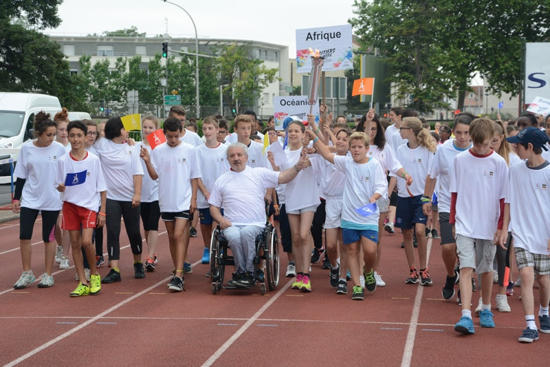Poitiers en mode Journée Olympique et Paralympique
