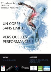 Colloque CREPS corps sans limite 2018
