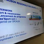 Reconversion des sportifs : la Nouvelle-Aquitaine région pilote du Pass'Sport 2.0