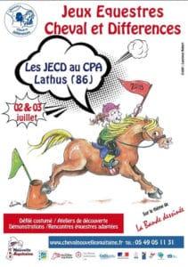 Jeux Équestres Cheval et Différences 2018 @ CPA de Lathus | Lathus-Saint-Rémy | Nouvelle-Aquitaine | France