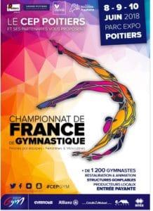 Gymnastique - Championnat de France @ Parc des Expositions de Poitiers (86) | Poitiers | Nouvelle-Aquitaine | France