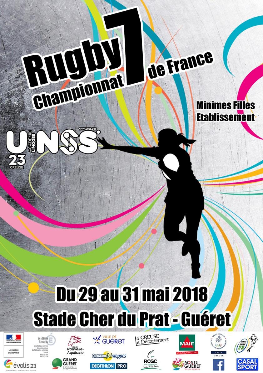 Championnat de France Rugby UNSS @ Guéret | Guéret | Nouvelle-Aquitaine | France