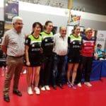 #Tennisdetable – Les poitevines du TTACC 86 championnes de France !
