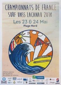 Championnat de France UNSS @ Lacanau