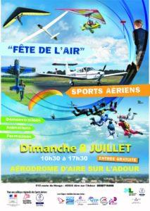 Sports Aériens - 11e Fête de l'Air @ Aérodrome - AIRE SUR L'ADOUR (40) | Aire-sur-l'Adour | Nouvelle-Aquitaine | France