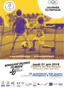 Journée Olympique de Bordeaux @ CREPS de Bordeaux - TALENCE (33) | Talence | Nouvelle-Aquitaine | France