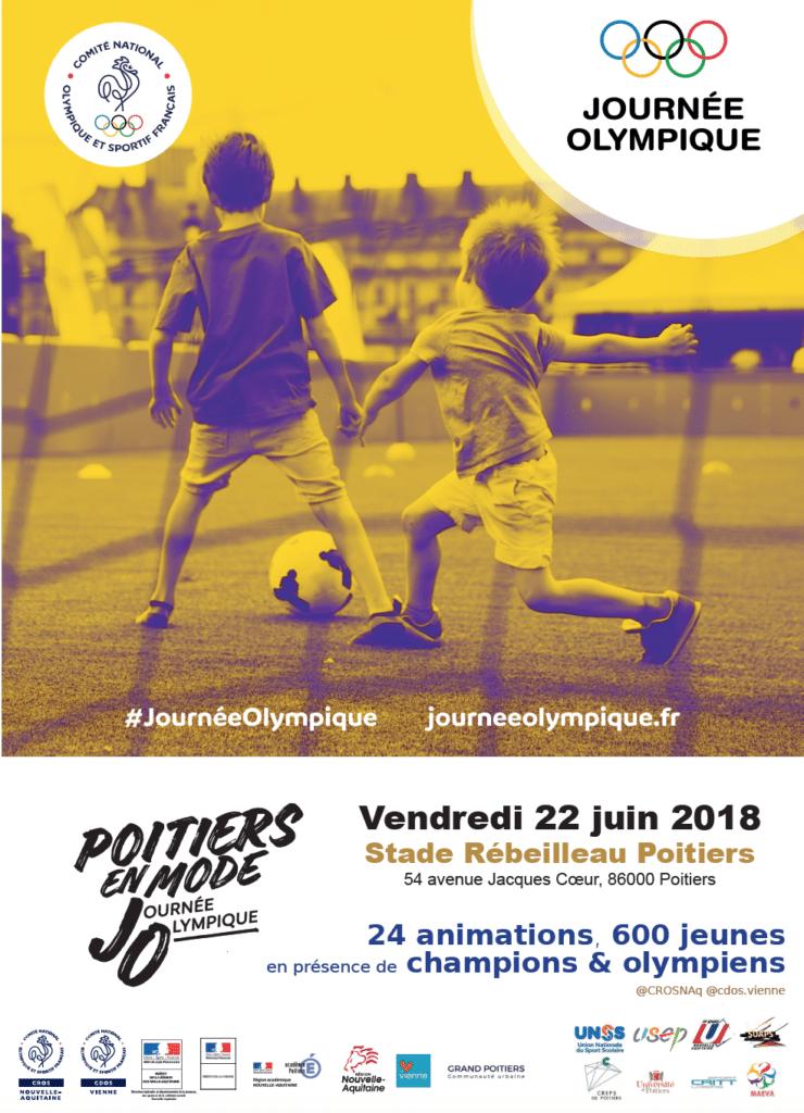 Poitiers en Mode Journée Olympique