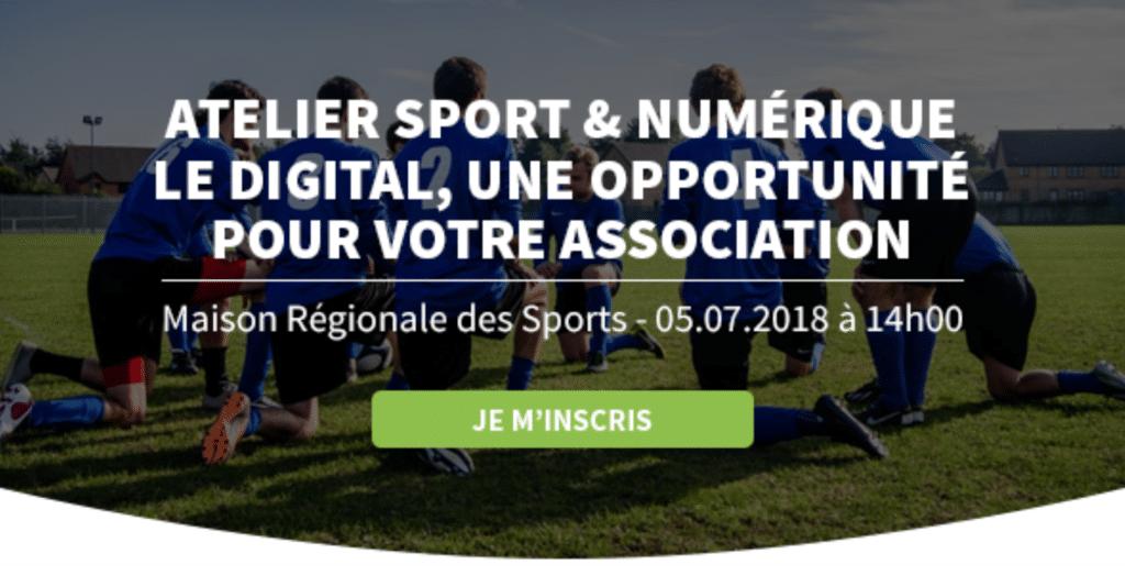 Sport numérique CROS HelloAsso