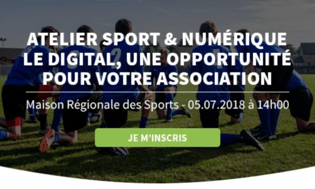 Sport & numérique – le digital une opportunité pour votre ligue, association ! 5 juillet Talence
