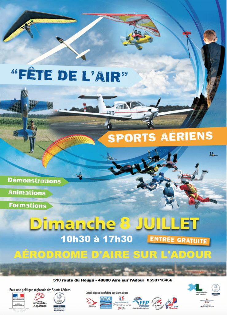 Fete de l'air 2018 Nouvelle-Aquitaine