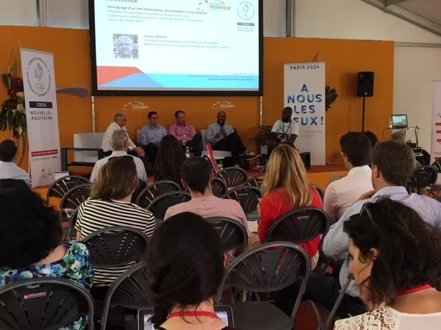 Retour sur la conférence «Enjeux et opportunités des Jeux de Paris 2024 pour le territoire», du 18 mai à Bordeaux