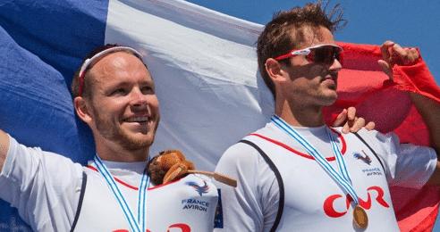 Aviron – Deux rameurs Néo-Aquitains Champions du Monde !