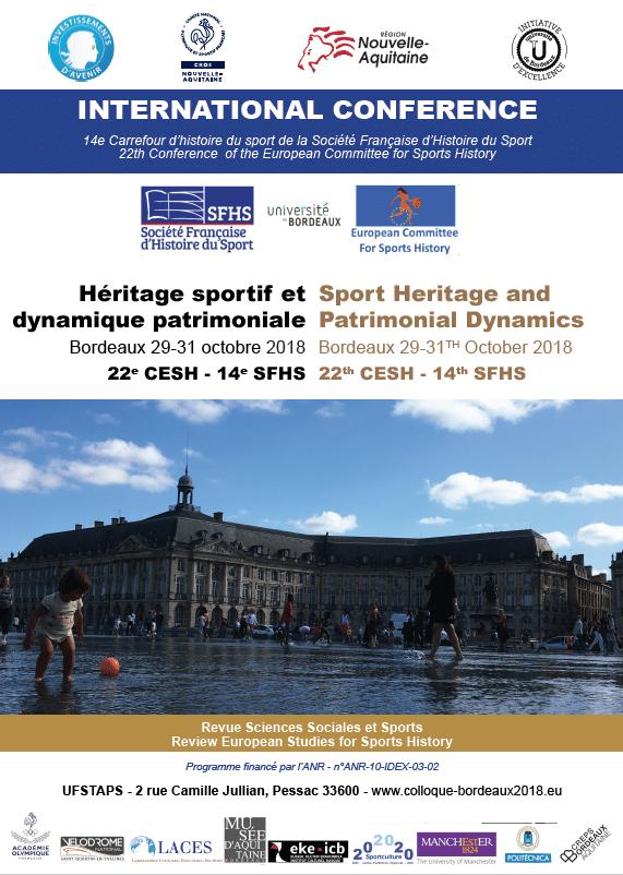 Affiche colloque heritage 2018