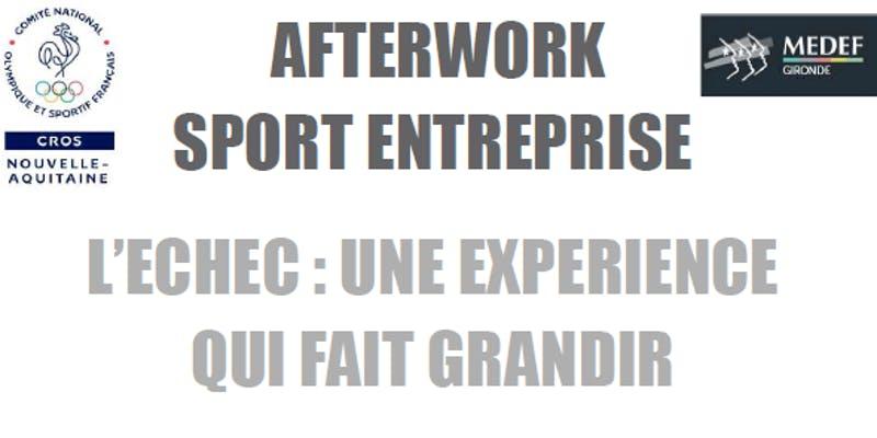 Afterwork sport entreprise