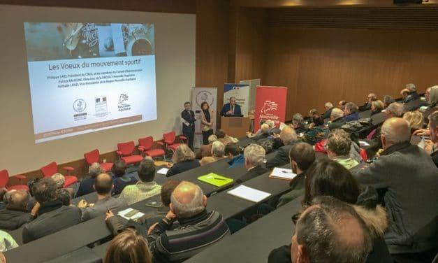 Les voeux 2019 du Mouvement Sportif Nouvelle-Aquitaine