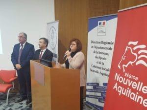 Voeux sport Nouvelle Aquitaine CROS DRDJSCS Region