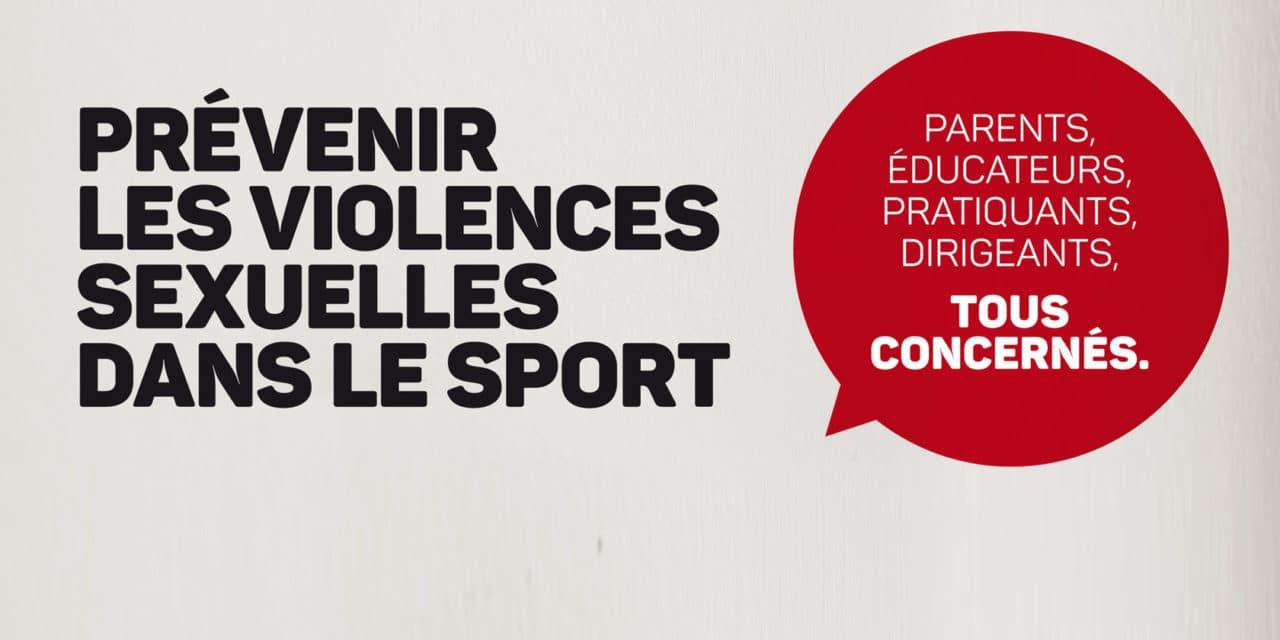 Prévenir les violences sexuelles dans le sport