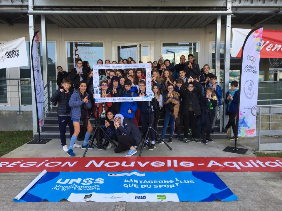Semaine olympique 2019 CROS Nouvelle-Aquitaine