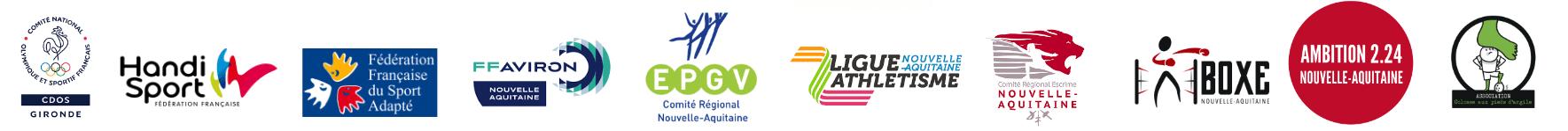 Bandeau partenaires sop2019 Nouvelle Aquitaine CROS