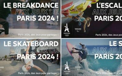 Paris 2024 : la breakdance, l'escalade, le skateboard et le surf proposés par le Comité d'organisation