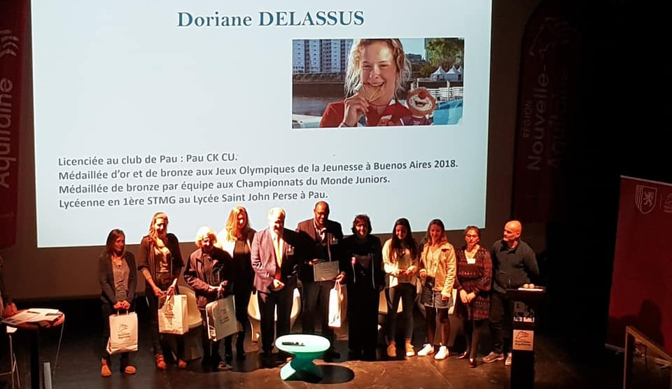 Remise des Trophées Fémix'Sports Nouvelle-Aquitaine