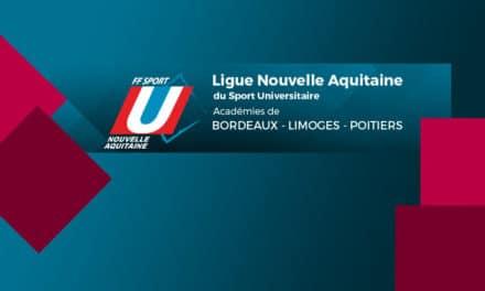 La Ligue Nouvelle-Aquitaine du Sport Universitaire en AG