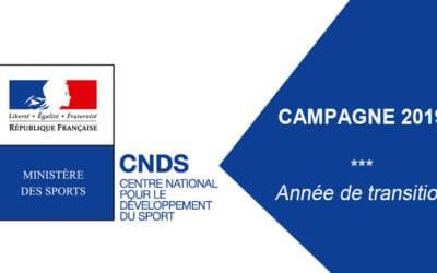 Lancement du CNDS, part territoriale et investissement