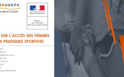 Enquête «Accès des femmes et jeunes filles à la pratique des APS en Nouvelle-Aquitaine»