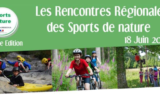 Les Rencontres Régionales Sports de Nature de Nouvelle-Aquitaine ont le droit à une seconde édition !