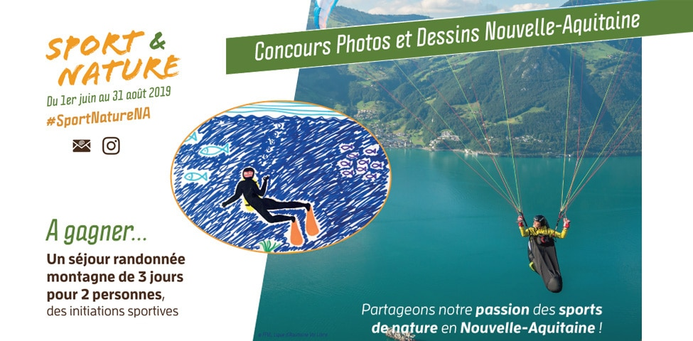 Concours photos et dessins d'enfants #SportNatureNA