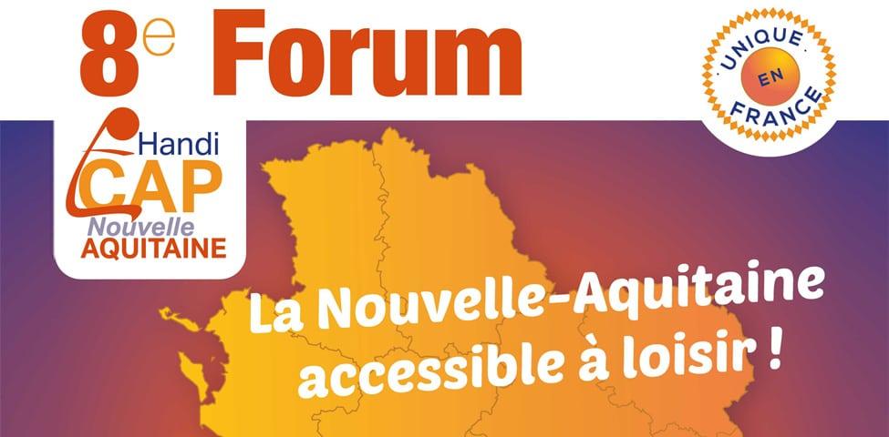 Retrouvez le CROS au 8ème Forum Handi CAP Nouvelle-Aquitaine le 1er octobre à Bordeaux