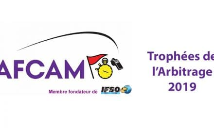 L'arbitrage honoré en Nouvelle-Aquitaine – Trophée de l'AFCAM – 22 novembre