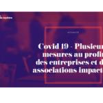 Covid-19 – la Région soutient les associations, mesures et modalités