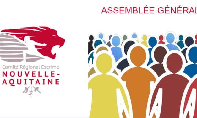 Les Cadets de l'Estuaire accueillent l'Assemblée générale du Comité régional d'Escrime de Nouvelle-Aquitaine